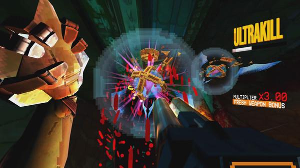 Screenshot of ULTRAKILL