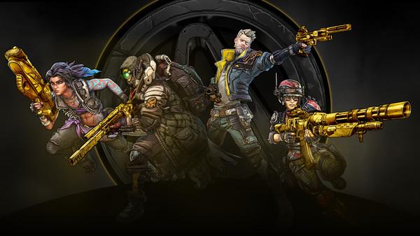 Скриншот №1 к Borderlands 3 Gold Weapon Skins Pack