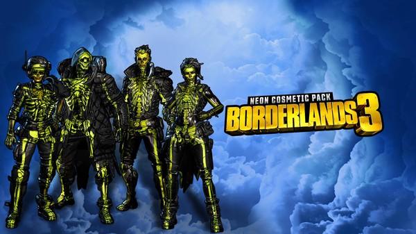 Скриншот №1 к Borderlands 3 Neon Cosmetic Pack