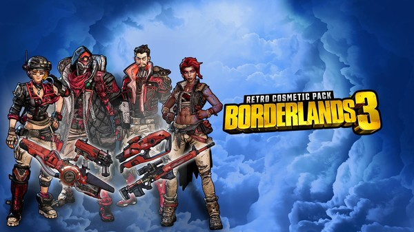 Скриншот №1 к Borderlands 3 Retro Cosmetic Pack
