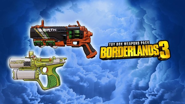 Скриншот №1 к Borderlands 3 Toy Box Weapons Pack