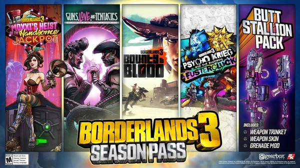 Скриншот №1 к Borderlands 3 Season Pass