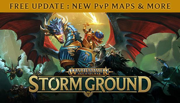 Économisez 15% sur Warhammer Age of Sigmar: Storm Ground sur Steam