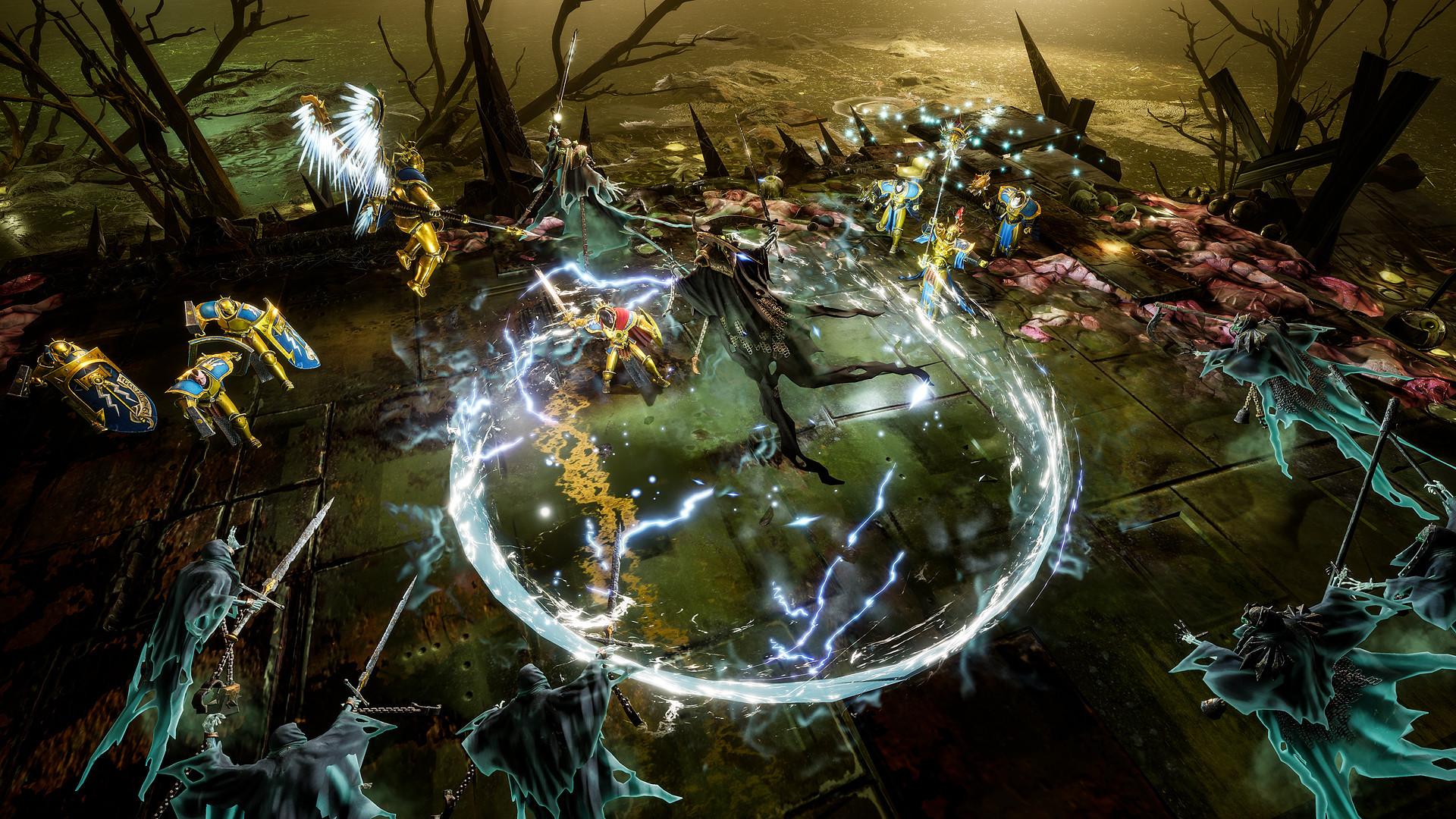 La estrategia de Warhammer Age of Sigmar: Storm Ground se expone en un interesante gameplay 2