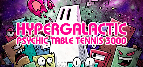 Hypergalactic Psychic Table Tennis 3000 Cover Image
