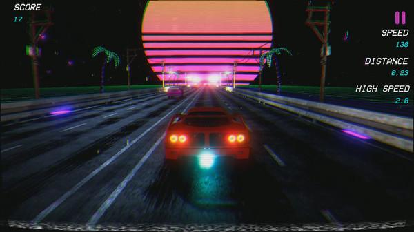 Retrowave screenshot
