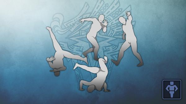 Скриншот №1 к Monster Hunter World - Набор жестов MHWI Отвязный танец