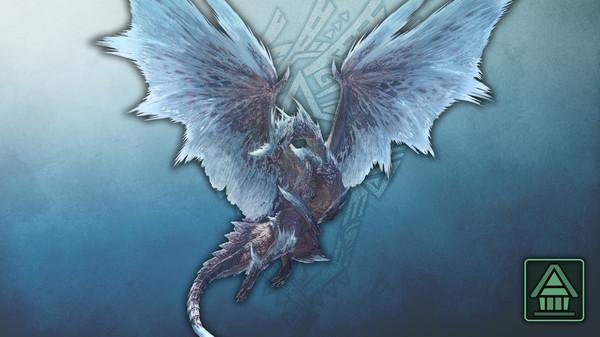 Скриншот №1 к Monster Hunter World Iceborne - Фигурка чудовища MHWI Велхана