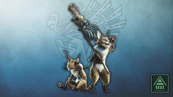 Скриншот №1 к Monster Hunter World Iceborne - Фигурка чудовища MHWI грималкина