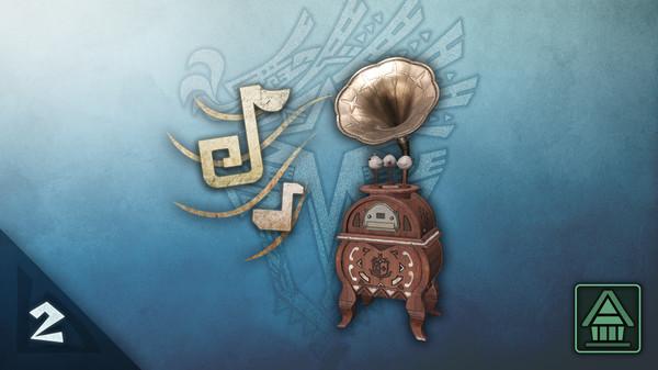 Скриншот №1 к Monster Hunter World Iceborne - Муз. проигрыватель MHWI Набор доп. фоновой музыки ч.2