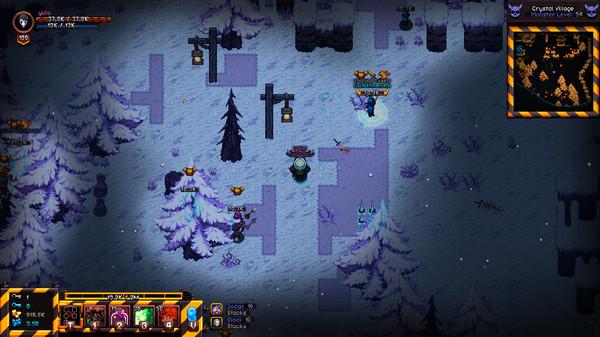 Скриншот №1 к Hero Siege - Frostbite Skin