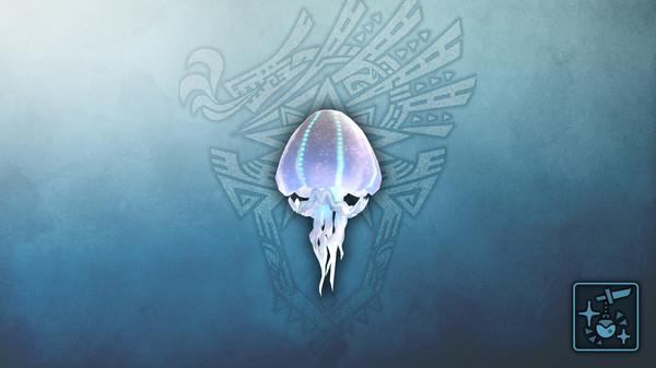 Скриншот №1 к Monster Hunter World Iceborne - Кулон летающая медуза