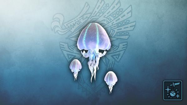 Скриншот №1 к Monster Hunter World Iceborne - Кулон колония летающих медуз