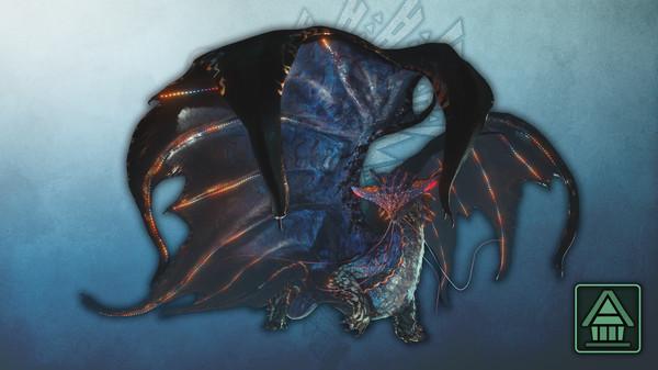 Скриншот №1 к Monster Hunter World Iceborne - Фигурка чудовища MHWI Намиэль