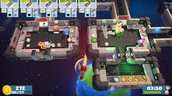 Скриншот №5 к Overcooked! All You Can Eat