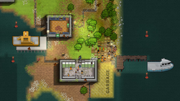 Скриншот №1 к Prison Architect - Island Bound