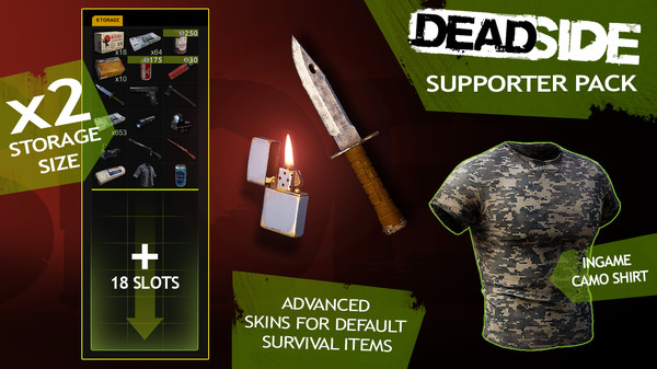 Скриншот №1 к Deadside Supporter Pack