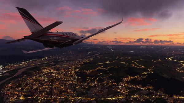 скриншот Microsoft Flight Simulator 5