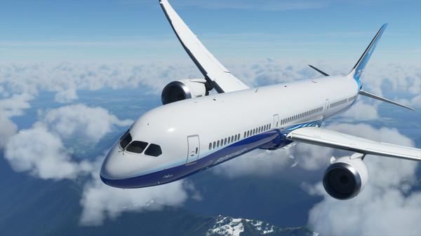скриншот Microsoft Flight Simulator 3