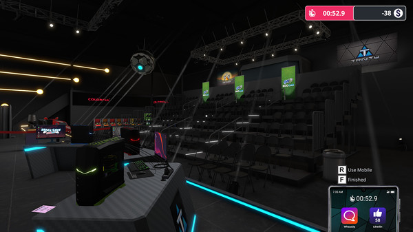 Скриншот №7 к PC Building Simulator - Esports Expansion