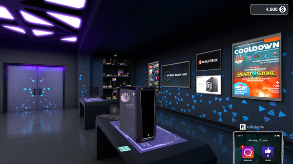 Скриншот №1 к PC Building Simulator - Esports Expansion