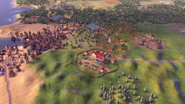 Скриншот №5 к Sid Meiers Civilization VI - Maya  Gran Colombia Pack
