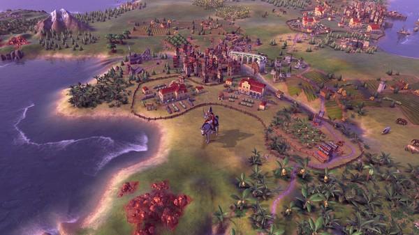 Скриншот №4 к Sid Meiers Civilization VI - Maya  Gran Colombia Pack