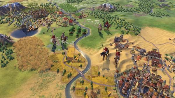 Скриншот №2 к Sid Meiers Civilization VI - Maya  Gran Colombia Pack
