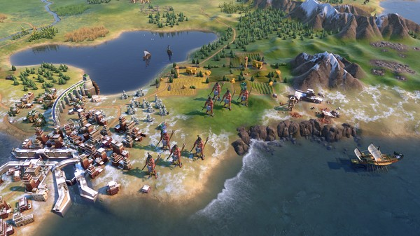 Скриншот №1 к Sid Meiers Civilization VI - Maya  Gran Colombia Pack