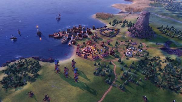 Скриншот №3 к Sid Meiers Civilization VI - Maya  Gran Colombia Pack