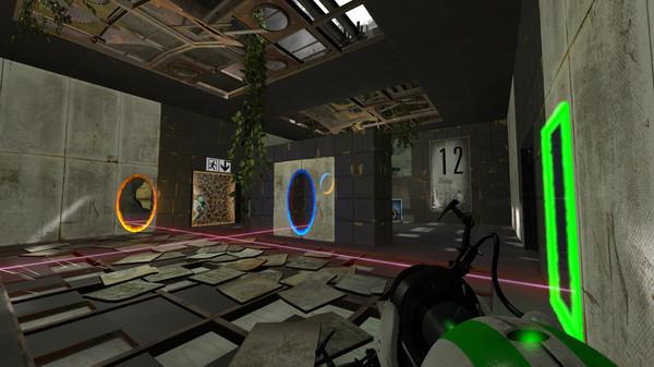 Скриншот из Portal Reloaded