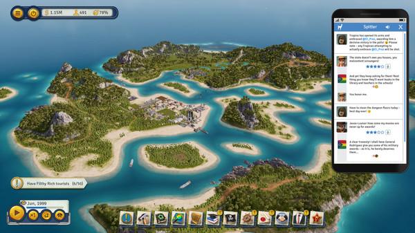 Скриншот №9 к Tropico 6 - Spitter