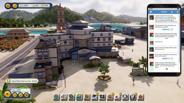 Скриншот №1 к Tropico 6 - Spitter