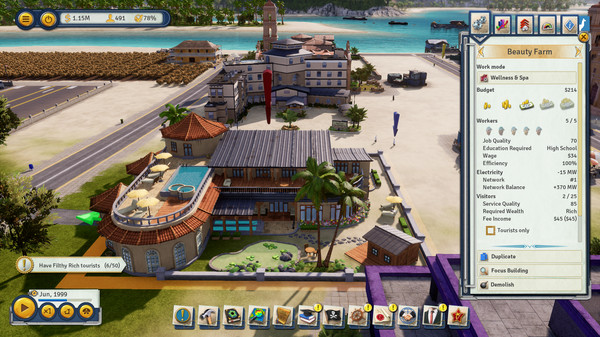 Скриншот №3 к Tropico 6 - Spitter
