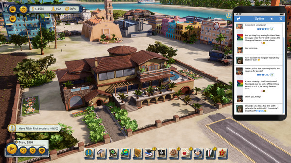 Скриншот №2 к Tropico 6 - Spitter