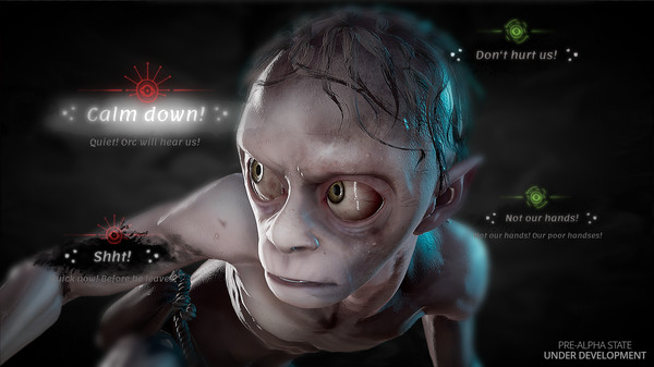 Скриншот №3 к The Lord of the Rings™ Gollum™