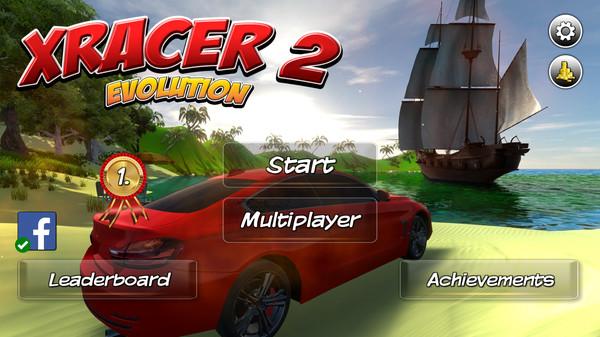 Скриншот №7 к XRacer 2 Evolution