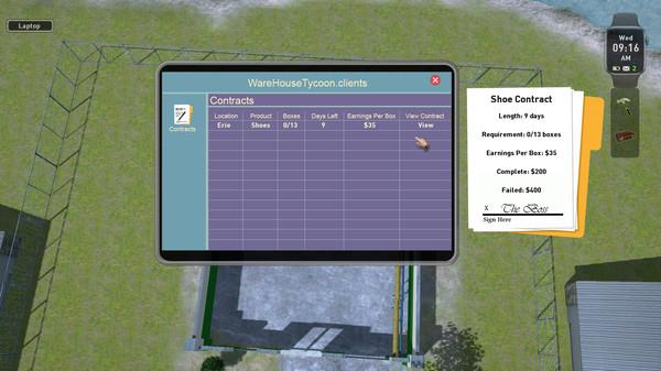 Скриншот №1 к Warehouse Tycoon