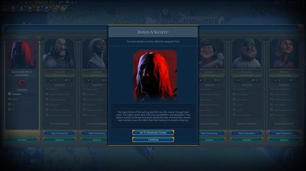 Скриншот №7 к Sid Meiers Civilization® VI Ethiopia Pack
