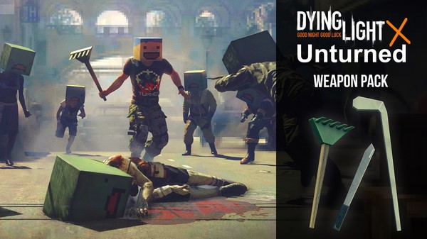 Скриншот №1 к Dying Light - Unturned Weapon Pack