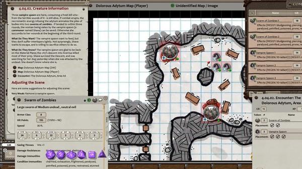 Скриншот №5 к Fantasy Grounds - DD Adventurers League 09-14 The Vast Emptiness of Grace