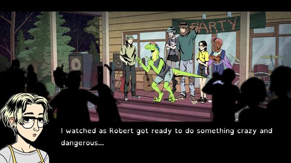 Raptor Boyfriend: A High School Romance Screenshot 7