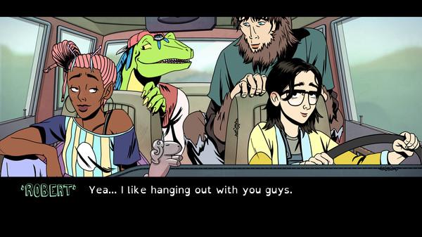 Raptor Boyfriend: A High School Romance Screenshot 8