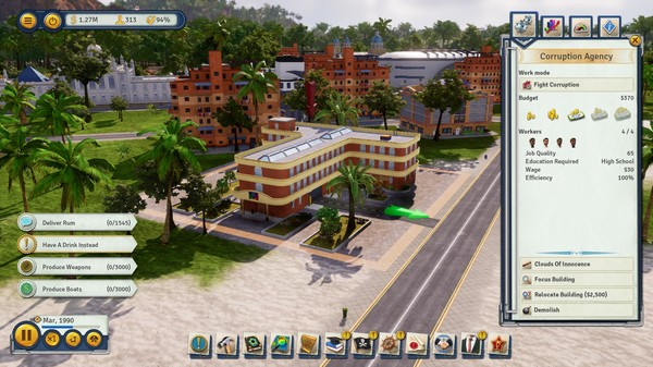 Скриншот №3 к Tropico 6 - Lobbyistico