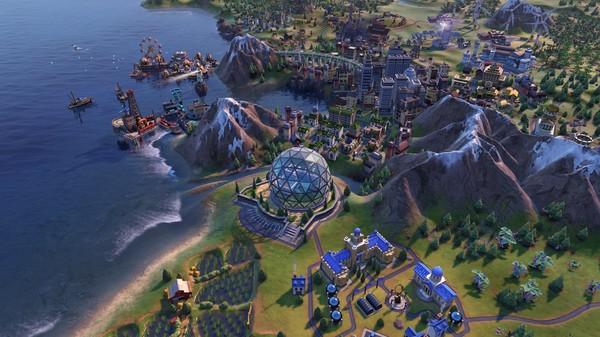 Скриншот №3 к Sid Meiers Civilization® VI Byzantium  Gaul Pack