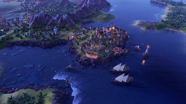 Скриншот №8 к Sid Meiers Civilization® VI Byzantium  Gaul Pack