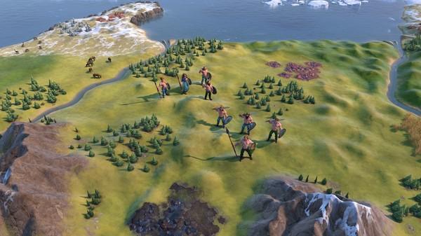Скриншот №1 к Sid Meiers Civilization® VI Byzantium  Gaul Pack