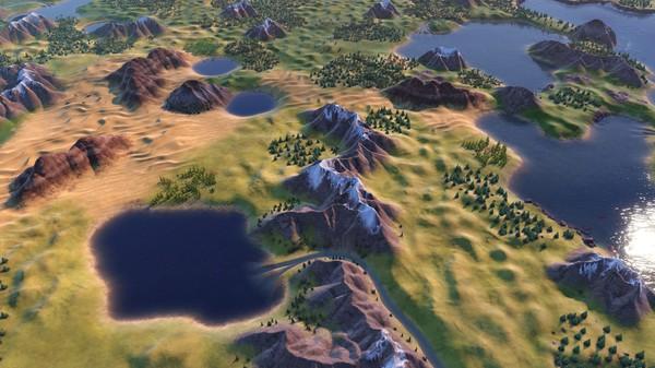 Скриншот №7 к Sid Meiers Civilization® VI Byzantium  Gaul Pack