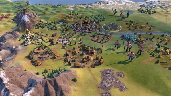 Скриншот №2 к Sid Meiers Civilization® VI Byzantium  Gaul Pack