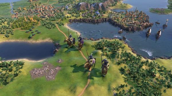 Скриншот №4 к Sid Meiers Civilization® VI Byzantium  Gaul Pack
